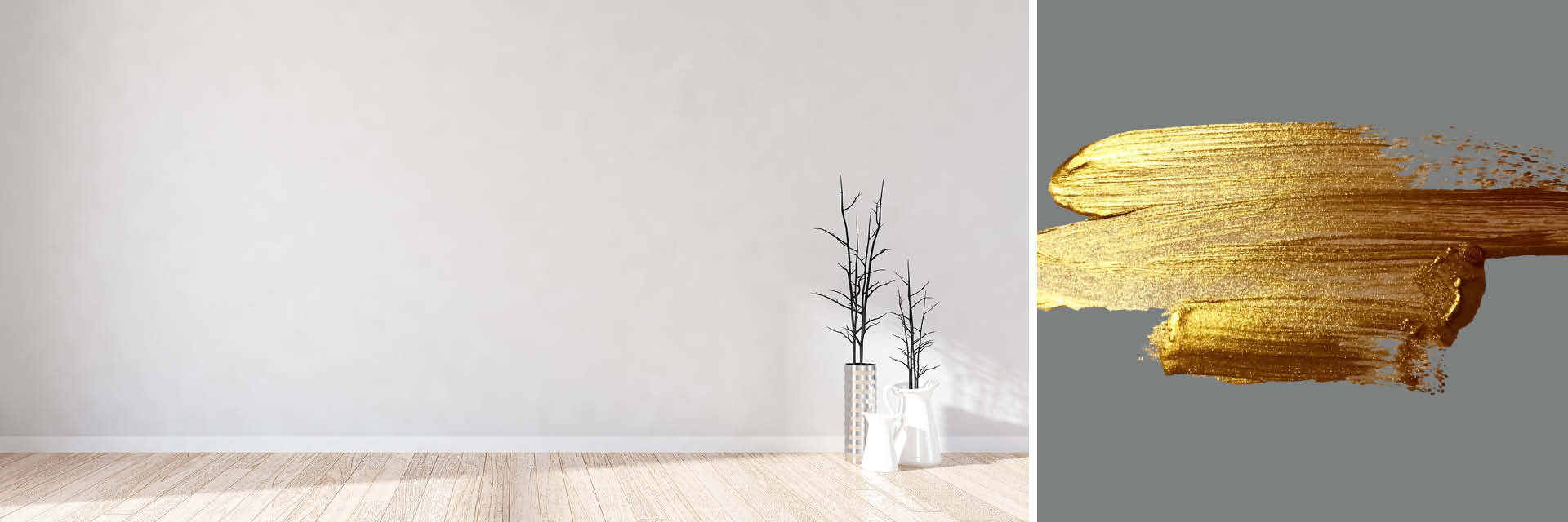 Sie stehen in einer leeren Wohnung, die neu eingerichtet und gestrichen werden soll – der Einrichtungs-Guide in 10 Schritten wird dabei helfen.