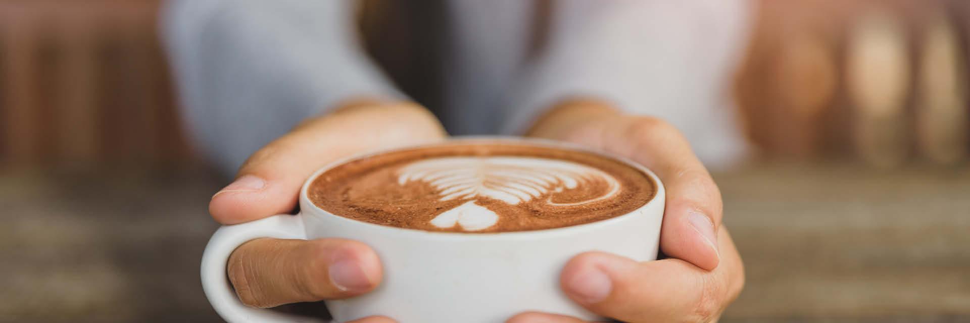 Bei einer gemütlichen Tasse Kaffee kann man noch einmal gut überlegen, ob man alle Schritte des Einrichtungs-Guide berücksichtigt hat.