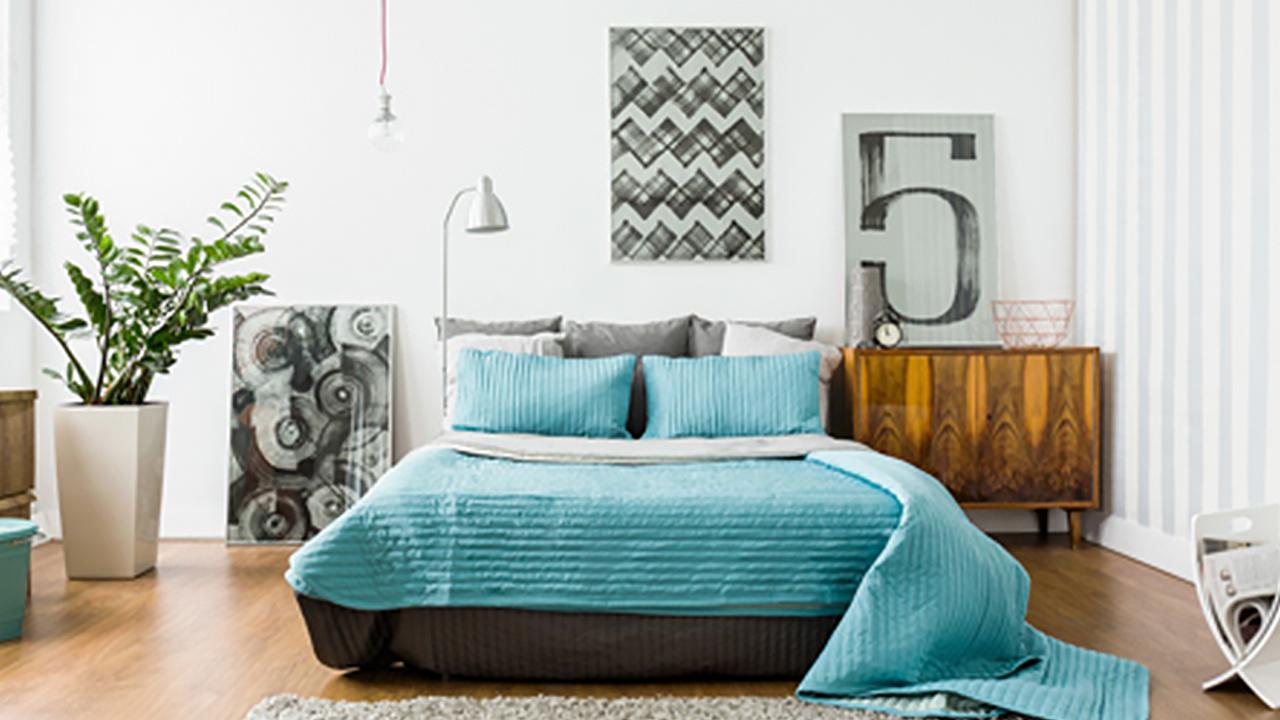 Frühstück Bett Boxspringbett Gemütlich Relaxen Schlafen