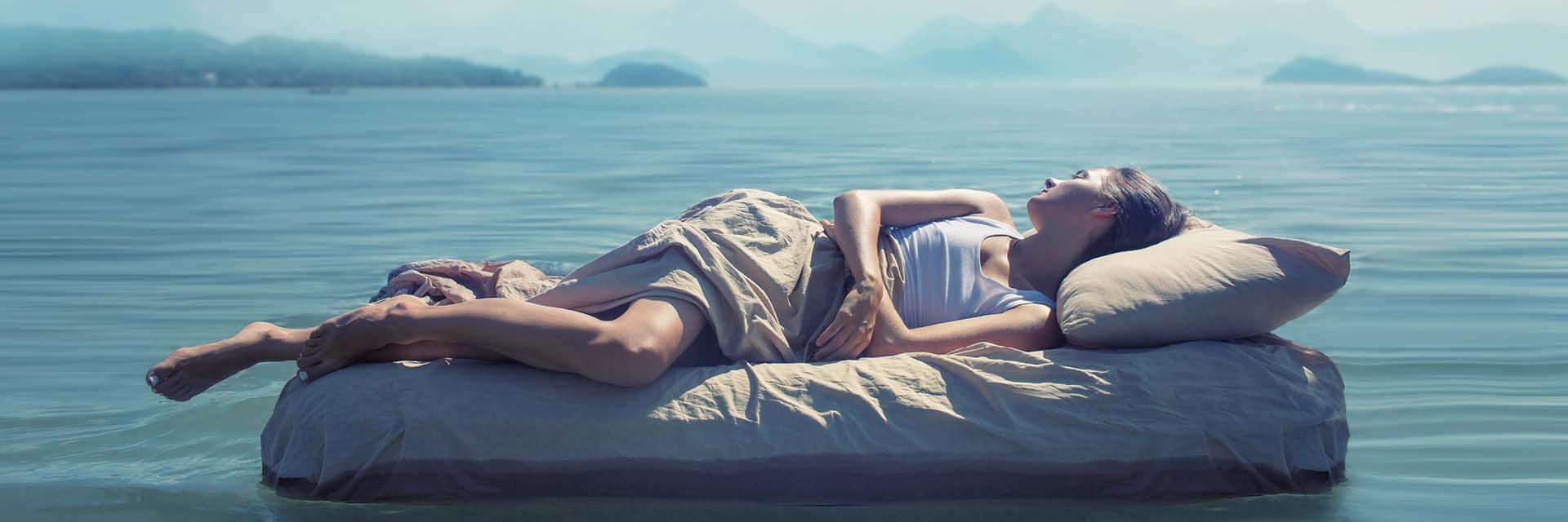 Die Geschichte vom schmerzfreien Liegen und dem glücklichen Schlaf!