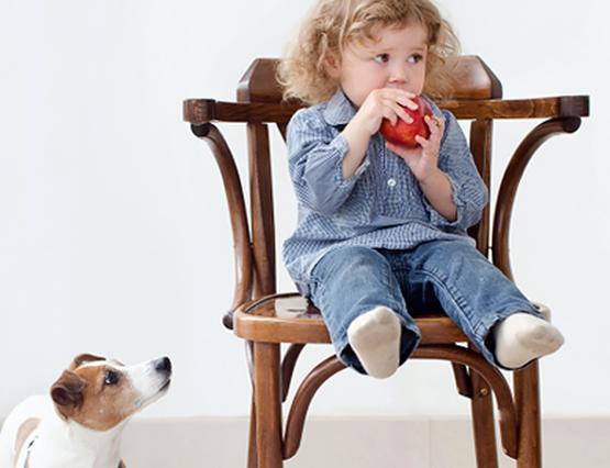Kindgerechtes Wohnen Kinderstuhl
