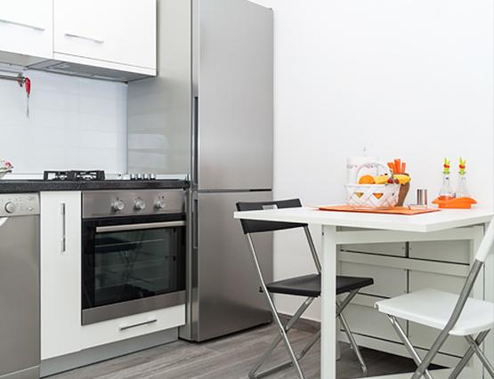 Kleine Wohnung Groß Stauraum Küche Einrichten