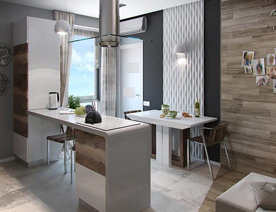 Kleine Wohnung Gr0ß Küche Hängeleuchten