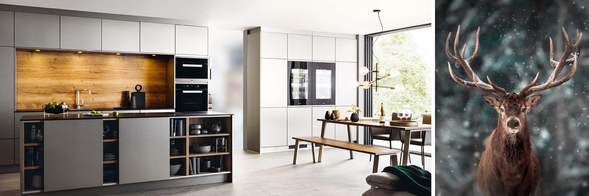Naturdesign - die neuen Küchen-Outfits