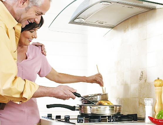 Sparen Kochen Küche Herd Geld Energie