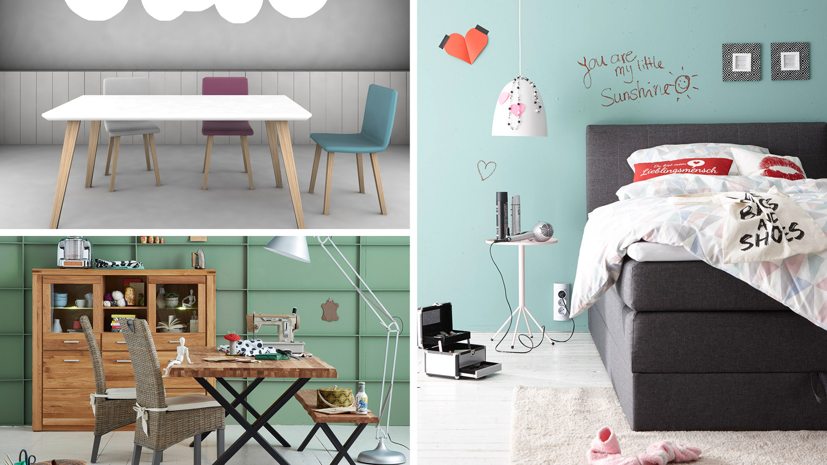 Unsere Deko-Tipps für richtig schönes Wohnen! - Möbel- und ...