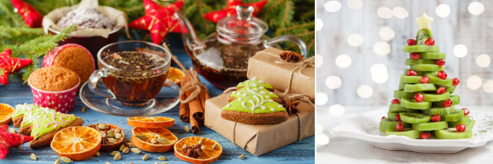 Einzelne Christbaumkugeln.Ein Weihnachtsferientag Zuhause Mit Den Kindern