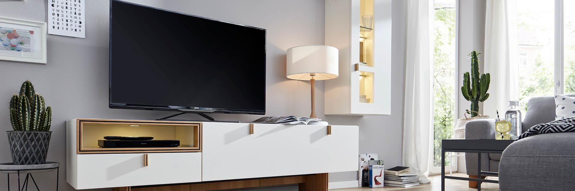 Schrankwand adé – es lebe die Wohnwand! – Möbel Gradinger