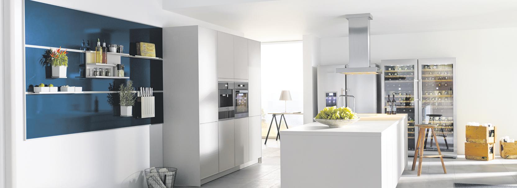 Modern, Minimalismus in der Küche