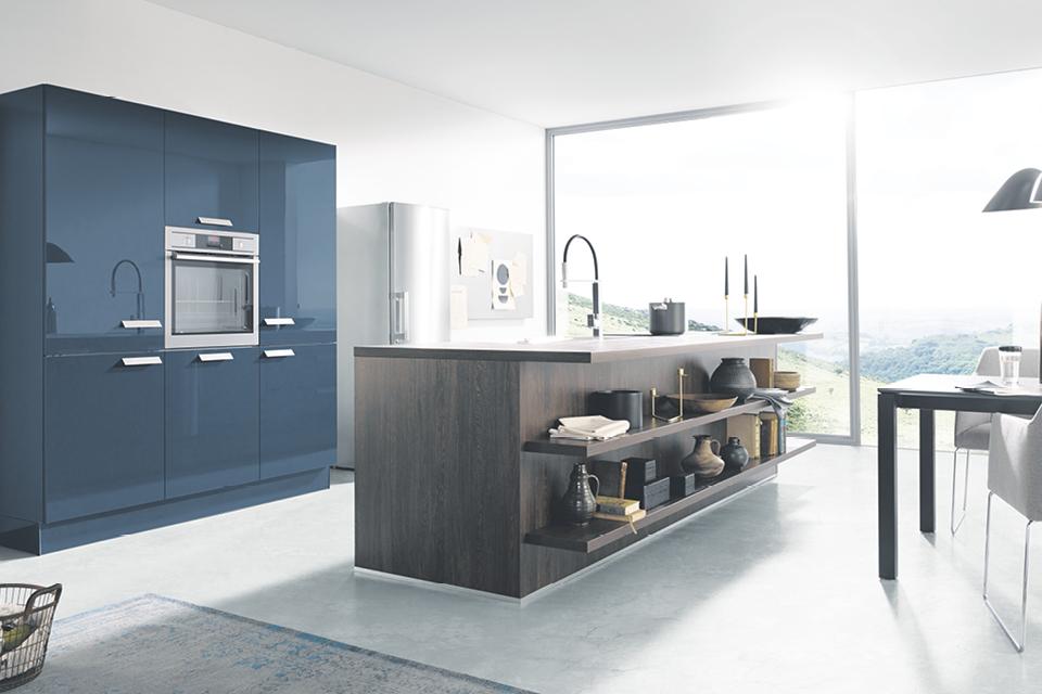 Moderne Küche, minimalistisch