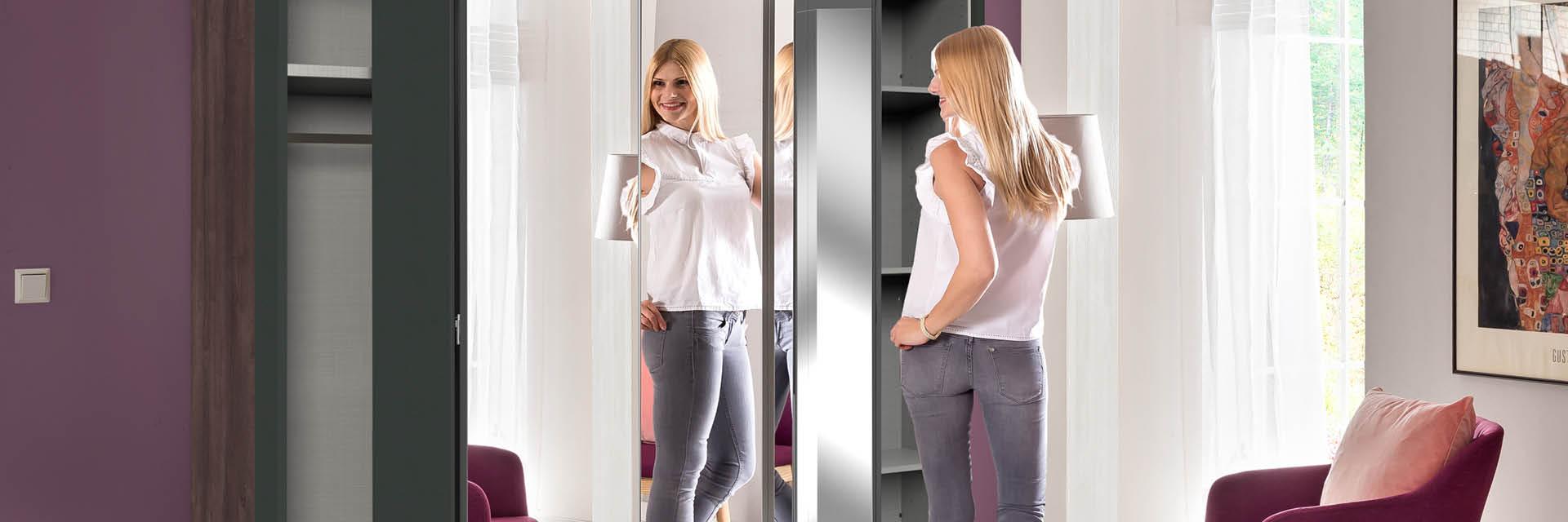 Drehtüren beim Kleiderschrank