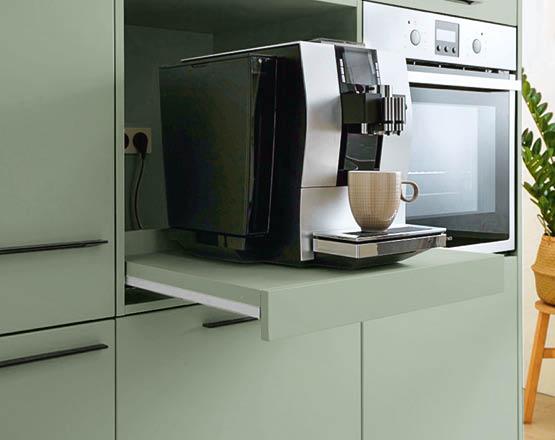 Kaffeemaschine, Küche
