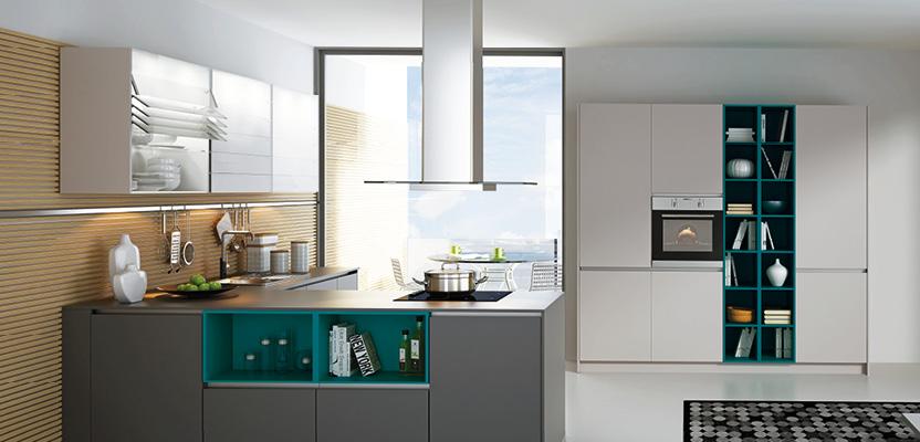 Küche 2k18 – pure Schönheit, grifflos und modern