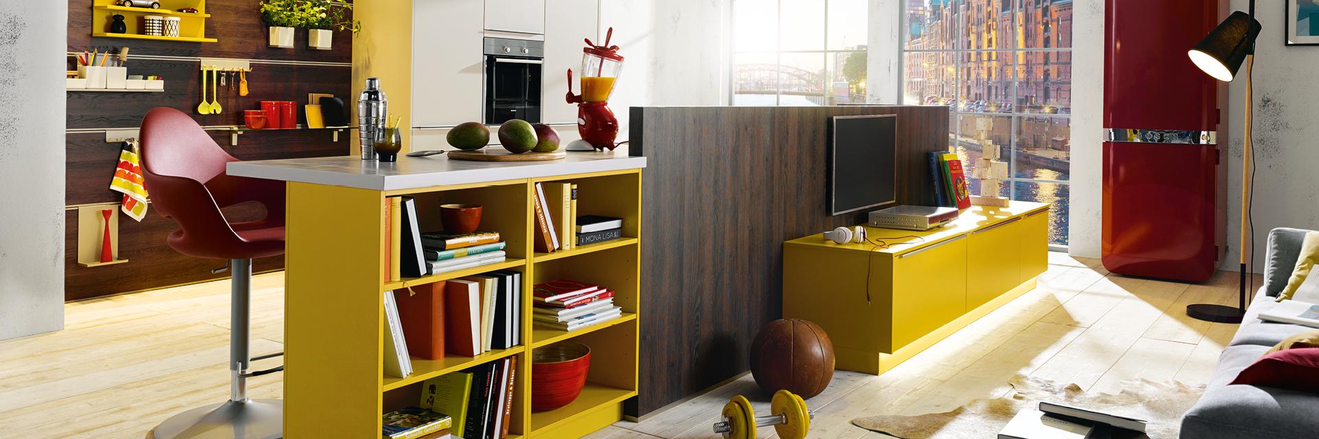 Küche als Büro