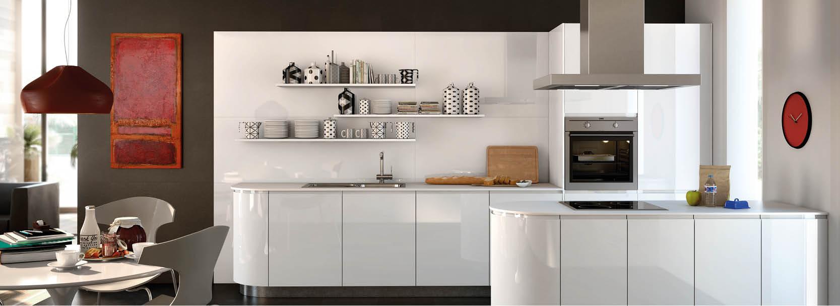 Runde Küchen im Trend