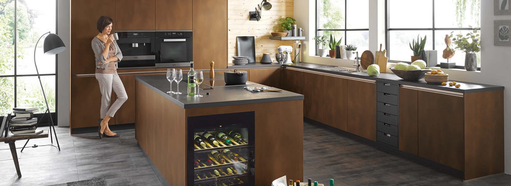 Der Metall-Look in der Küche – stilvoll, individuell, total im Trend!