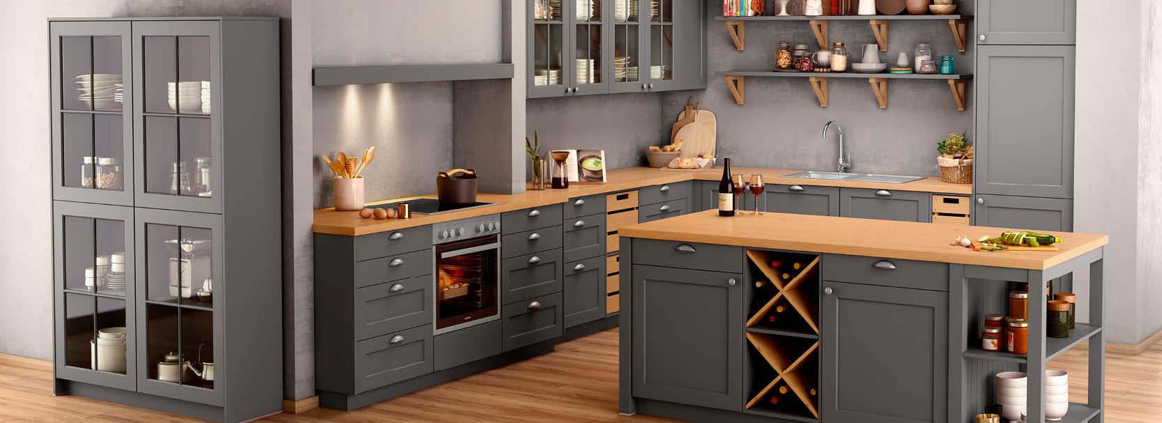 Landhausküchen – rustikal, gemütlich, modern