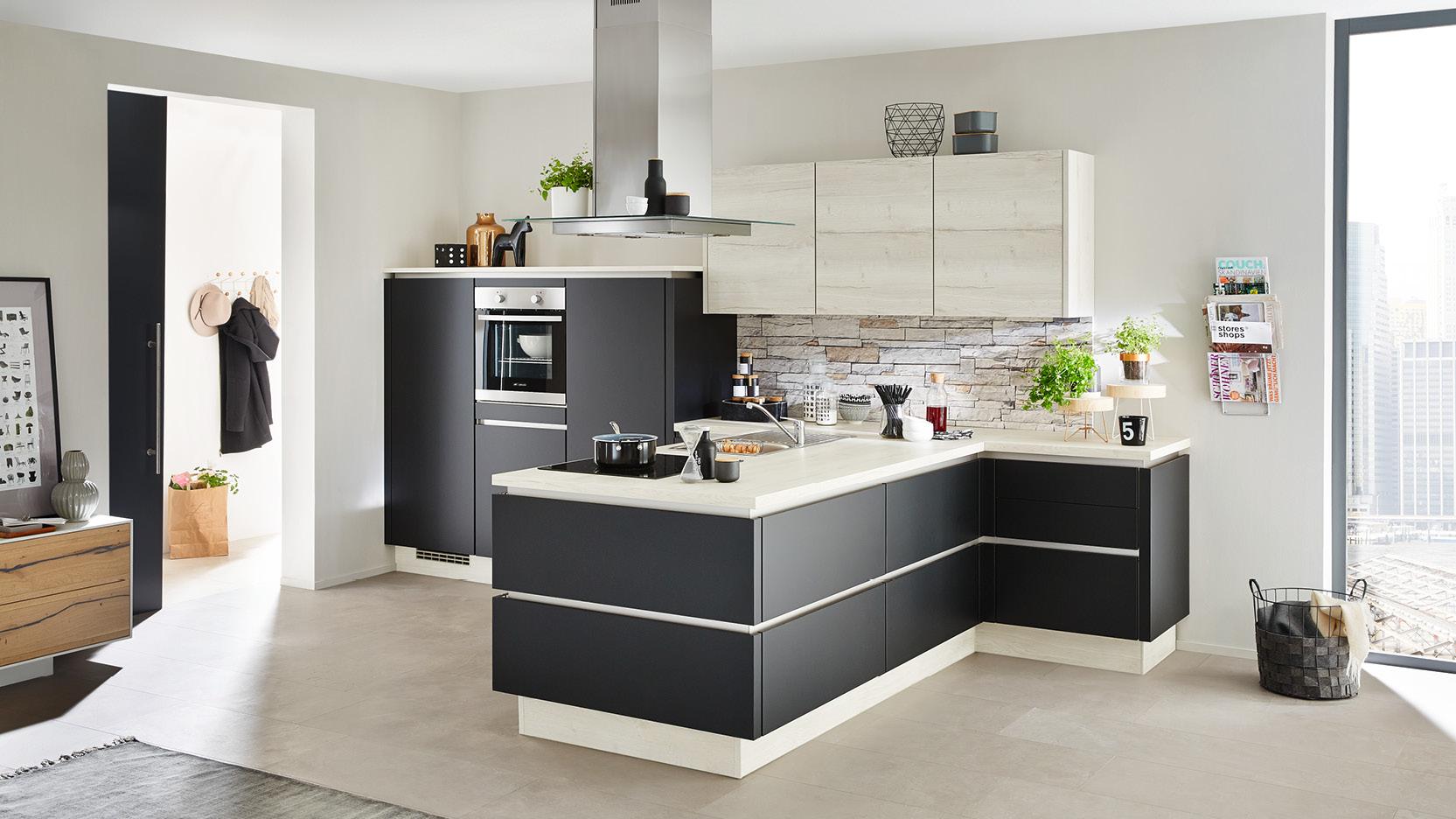 Küchen in Schwarz oder schwarze Küchen – der letzte Schrei