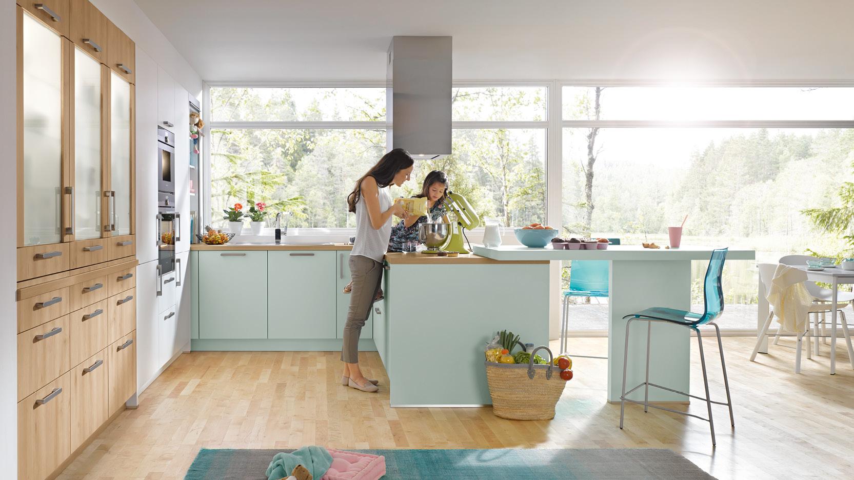 Die perfekte Wohnküche - so klappt´s