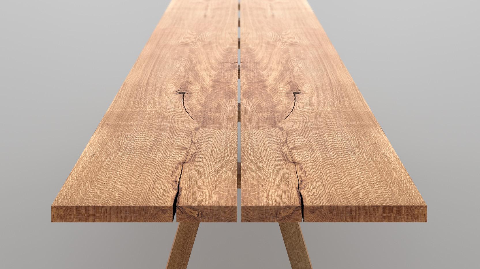 Holz Massivholz Tisch Pflege