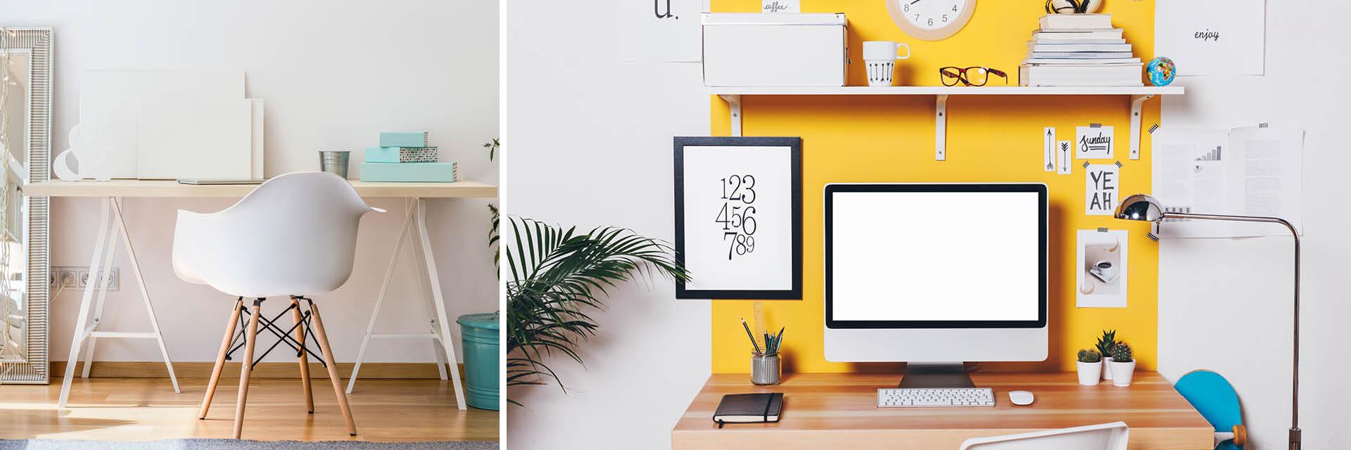 Farben im Arbeitszimmer