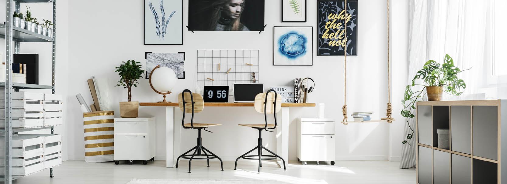 Arbeitszimmer – besser Einrichten und Arbeiten