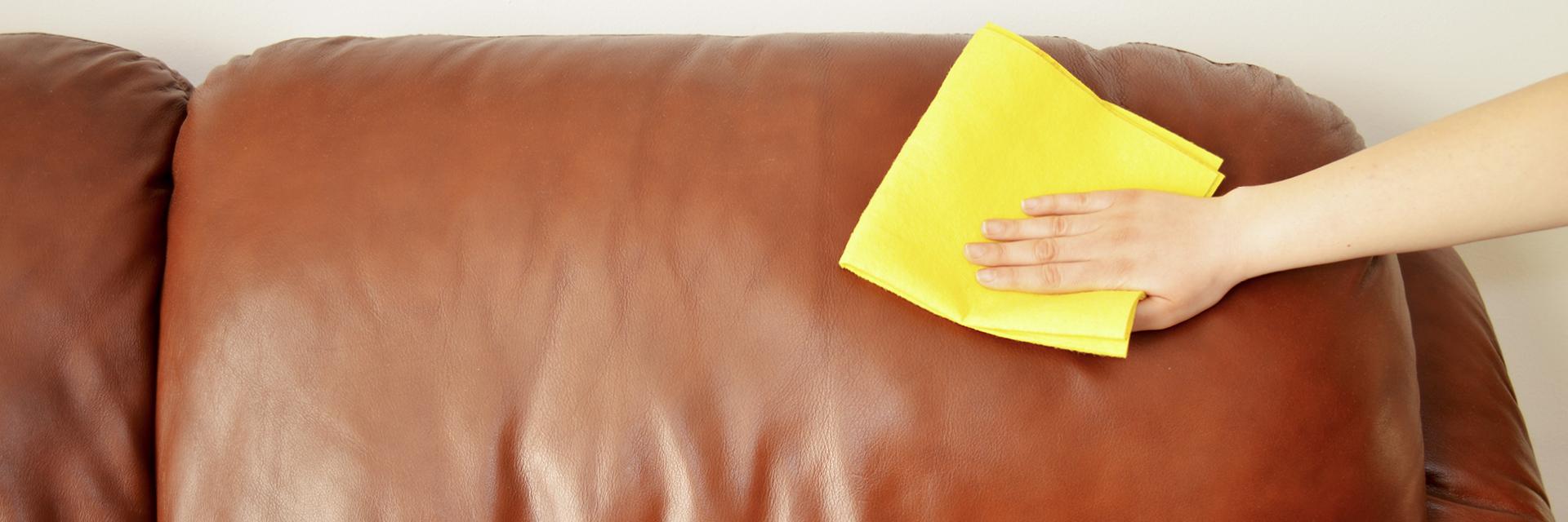 Leder Sofa Reinigen