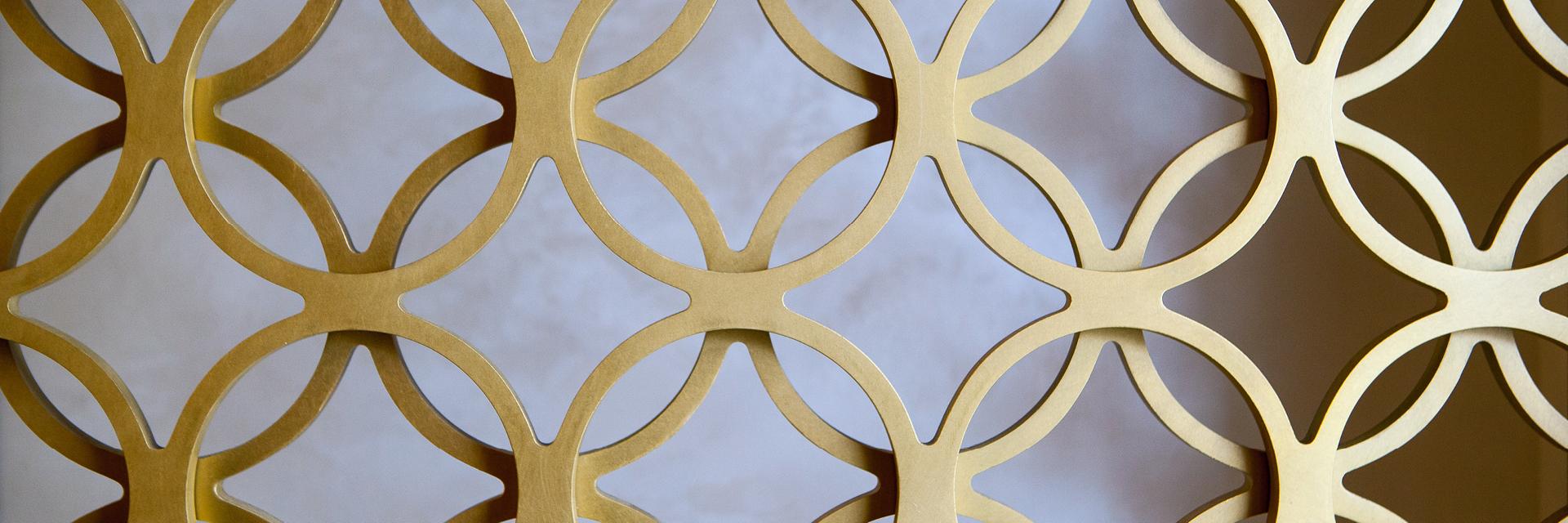 Glänzend Wohnen – Metall ist in