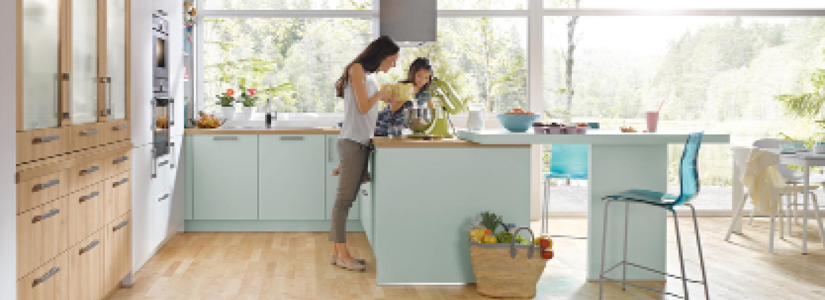 Der neue Küchentrend - der Genussraum
