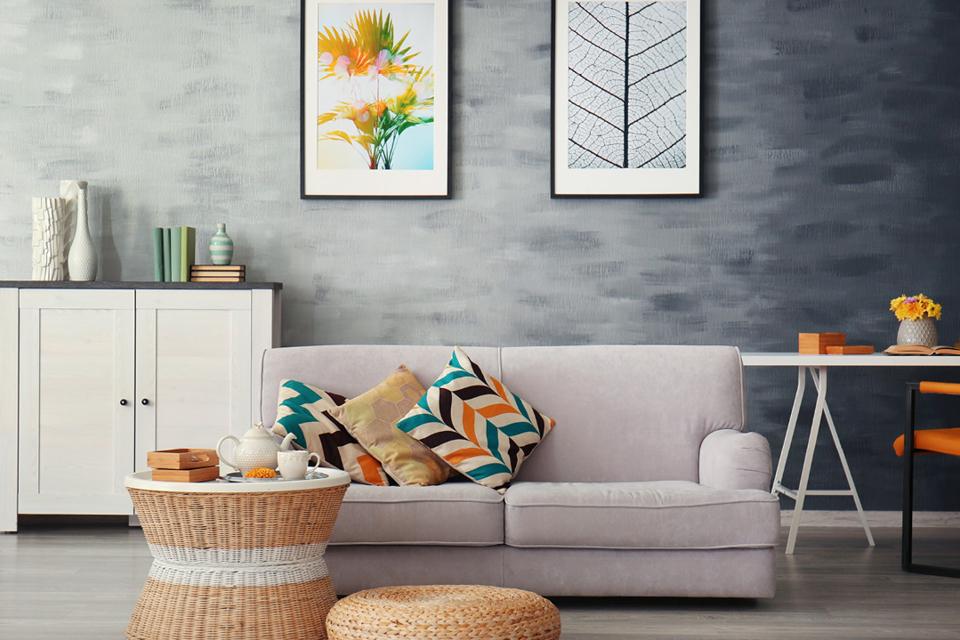 Möbeltrends 2018, Couch, bunte Farben