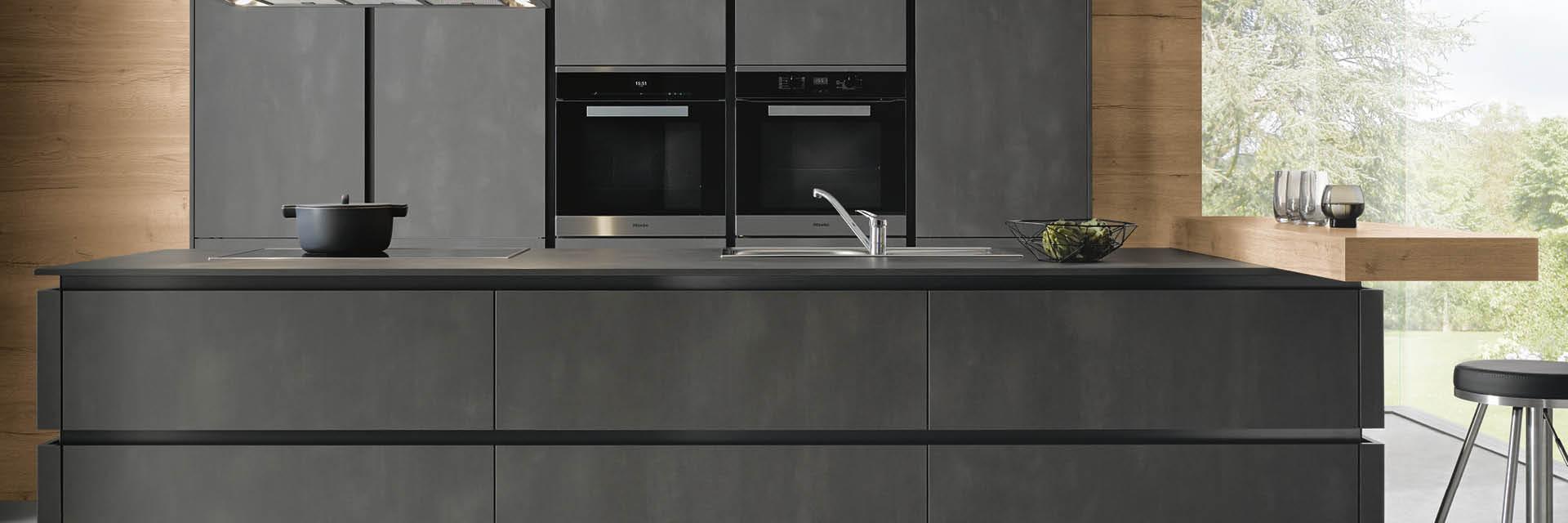 Wenn Küche zum Kunstobjekt wird - die offene Küche