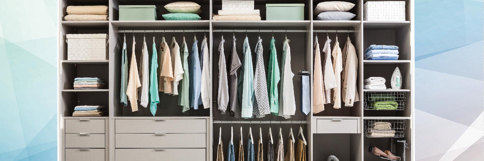 Ordnung im Schrank – 10 Tipps, die helfen
