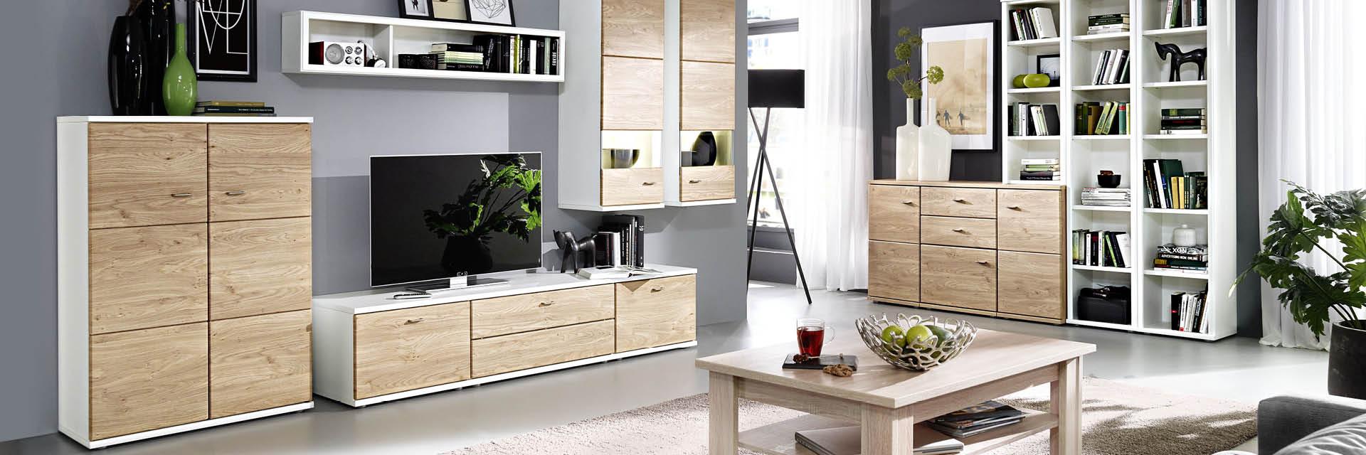 Wohnwände: die Königsklasse der Wohnzimmermöbel